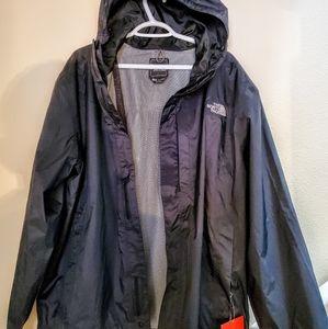 NEW North Face Rain Shell Jacket Hyvent Tech, Tags